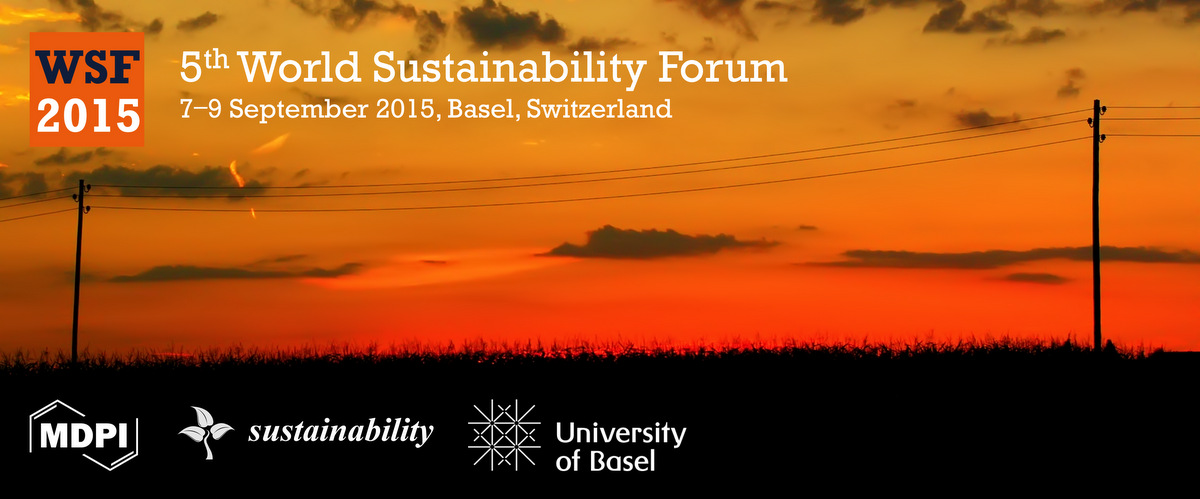The 5th World Sustainability Forum in Basel – strugsus